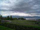 View on lake Geneva