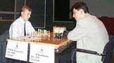 Ruslan Ponomariov and Dimitrij Bunzmann